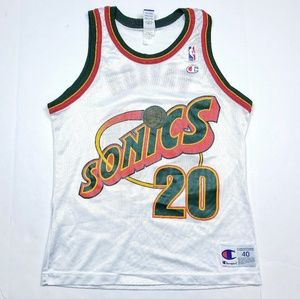 VTG Seattle SuperSonics Gary Payton Jersey #20